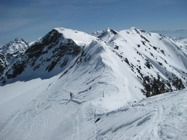 Foto: Wolfgang Lauschensky / Skitour / Östliche Veneziaspitze (3356m) - oder III. Veneziaspitze / gipfelnahe Ostscharte / 27.05.2010 15:53:43