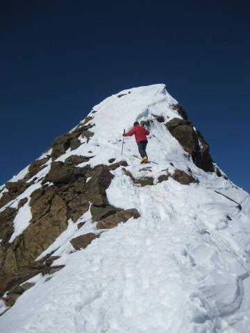 Foto: Wolfgang Lauschensky / Skitour / Östliche Veneziaspitze (3356m) - oder III. Veneziaspitze / kurzer steiler Ostgrat / 27.05.2010 15:53:28