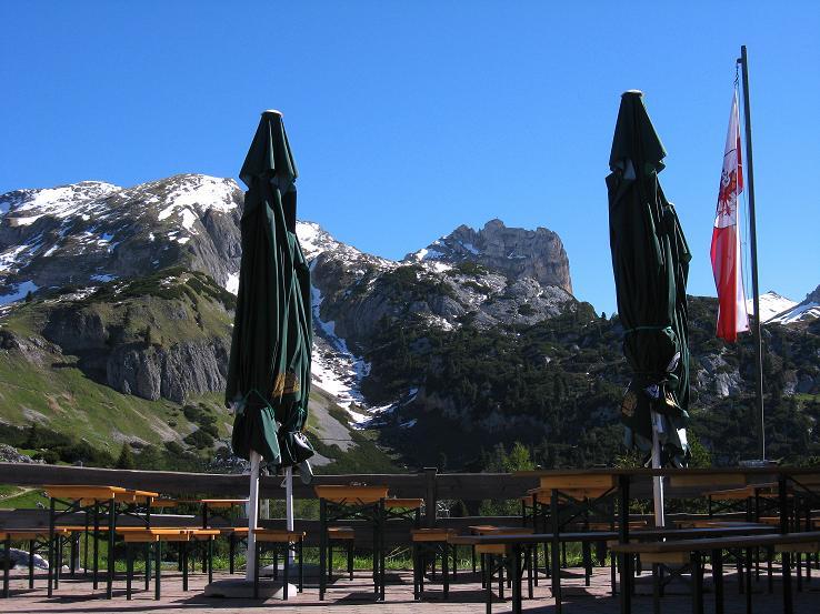 Foto: Andreas Koller / Klettersteigtour / Rosskopf Klettersteig und Rofanspitze (2259 m) / 09.06.2010 02:37:14