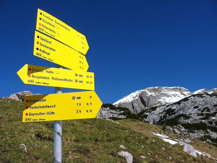 Foto: Andreas Koller / Klettersteigtour / Rosskopf Klettersteig und Rofanspitze (2259 m) / 09.06.2010 02:33:23