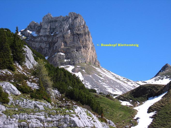 Foto: Andreas Koller / Klettersteigtour / Rosskopf Klettersteig und Rofanspitze (2259 m) / 09.06.2010 02:33:05