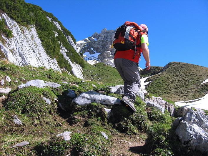 Foto: Andreas Koller / Klettersteigtour / Rosskopf Klettersteig und Rofanspitze (2259 m) / 09.06.2010 02:32:54
