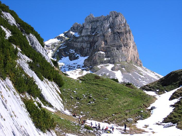 Foto: Andreas Koller / Klettersteigtour / Rosskopf Klettersteig und Rofanspitze (2259 m) / 09.06.2010 02:32:04