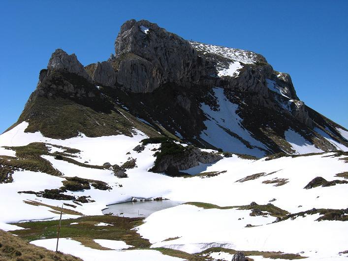 Foto: Andreas Koller / Klettersteigtour / Rosskopf Klettersteig und Rofanspitze (2259 m) / Haidachstellwand (2192 m) / 09.06.2010 02:30:54
