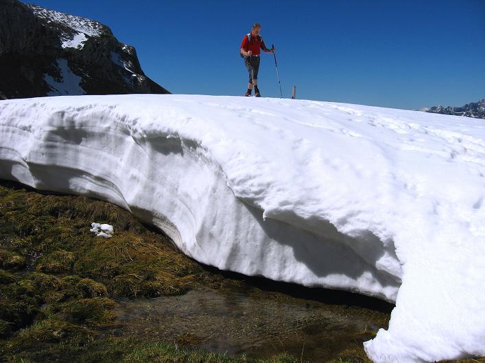 Foto: Andreas Koller / Klettersteigtour / Rosskopf Klettersteig und Rofanspitze (2259 m) / 09.06.2010 02:30:35