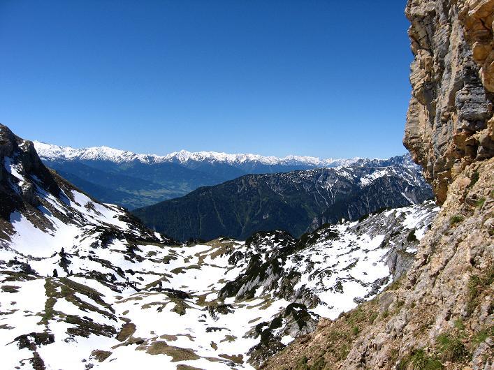 Foto: Andreas Koller / Klettersteigtour / Rosskopf Klettersteig und Rofanspitze (2259 m) / Beim Einstieg / 09.06.2010 02:30:20