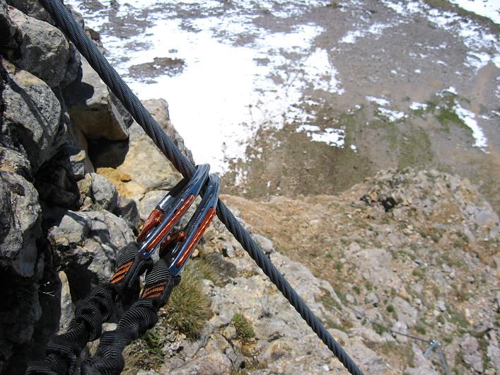 Foto: Andreas Koller / Klettersteigtour / Rosskopf Klettersteig und Rofanspitze (2259 m) / 09.06.2010 02:29:17