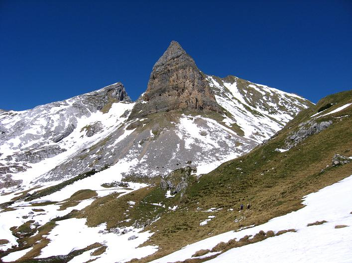 Foto: Andreas Koller / Klettersteigtour / Rosskopf Klettersteig und Rofanspitze (2259 m) / Rosskopf S-Pfeiler / 09.06.2010 02:25:27