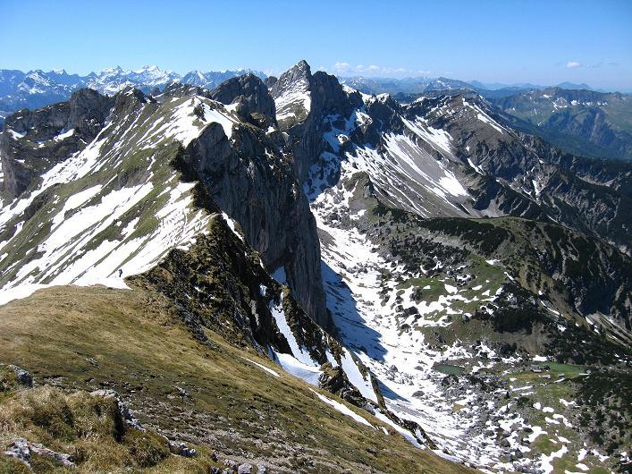 Foto: Andreas Koller / Klettersteigtour / Rosskopf Klettersteig und Rofanspitze (2259 m) / 09.06.2010 02:22:59