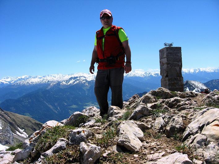 Foto: Andreas Koller / Klettersteigtour / Rosskopf Klettersteig und Rofanspitze (2259 m) / 09.06.2010 02:22:35