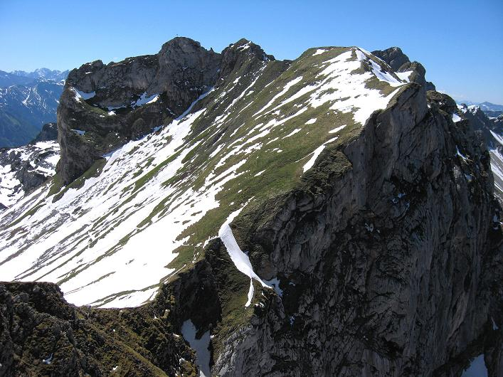 Foto: Andreas Koller / Klettersteigtour / Rosskopf Klettersteig und Rofanspitze (2259 m) / Rosskopf / 09.06.2010 02:20:59