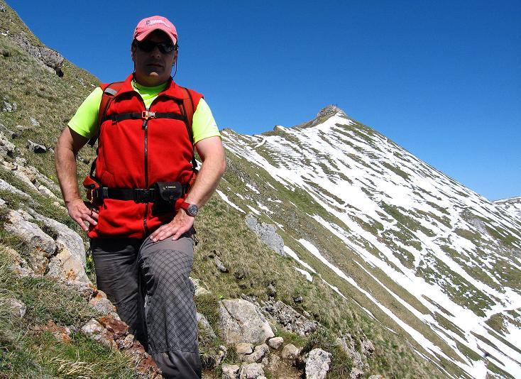 Foto: Andreas Koller / Klettersteigtour / Rosskopf Klettersteig und Rofanspitze (2259 m) / Abstieg von der Rofanspitze / 09.06.2010 02:19:19