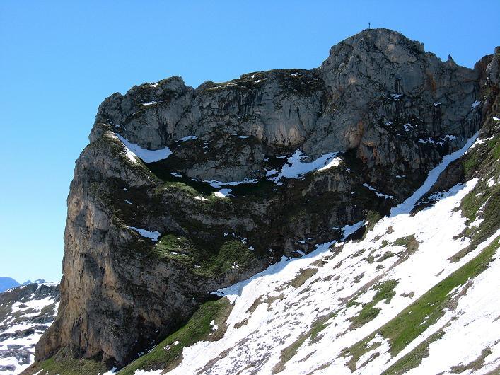 Foto: Andreas Koller / Klettersteigtour / Rosskopf Klettersteig und Rofanspitze (2259 m) / Der Rosskopf / 09.06.2010 02:19:00