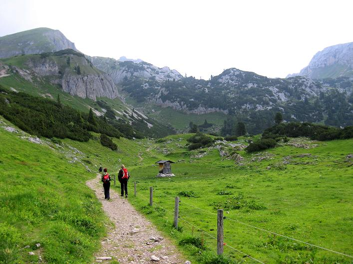 Foto: Andreas Koller / Klettersteigtour / Rosskopf Klettersteig und Rofanspitze (2259 m) / Der Zustieg zum Rosskopf / 14.07.2010 15:04:21