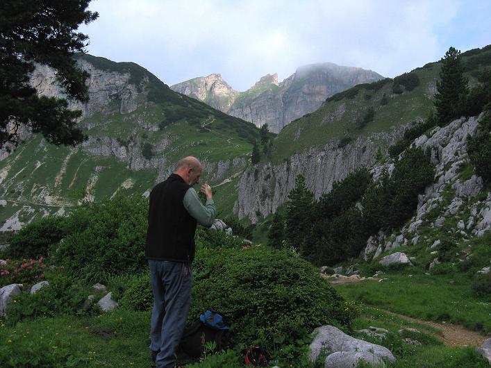Foto: Andreas Koller / Klettersteigtour / Rosskopf Klettersteig und Rofanspitze (2259 m) / 14.07.2010 15:04:04