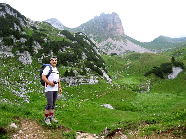 Foto: Andreas Koller / Klettersteigtour / Rosskopf Klettersteig und Rofanspitze (2259 m) / 14.07.2010 15:03:59