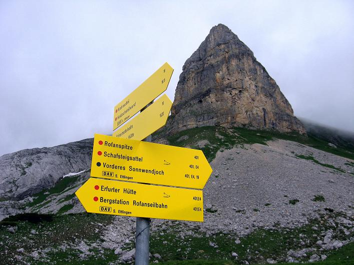 Foto: Andreas Koller / Klettersteigtour / Rosskopf Klettersteig und Rofanspitze (2259 m) / Rosskopf S-Pfeiler / 14.07.2010 15:03:53