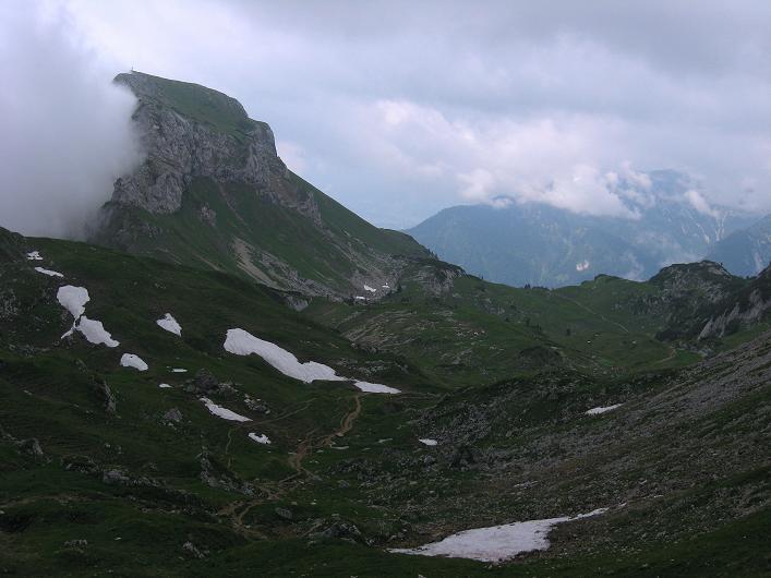 Foto: Andreas Koller / Klettersteigtour / Rosskopf Klettersteig und Rofanspitze (2259 m) / Haidachstellwand (2192m) / 14.07.2010 15:02:57