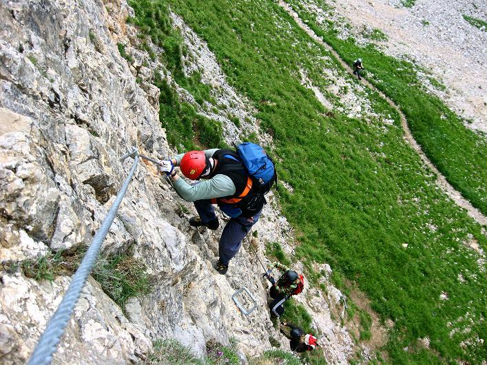 Foto: Andreas Koller / Klettersteigtour / Rosskopf Klettersteig und Rofanspitze (2259 m) / 14.07.2010 15:00:20