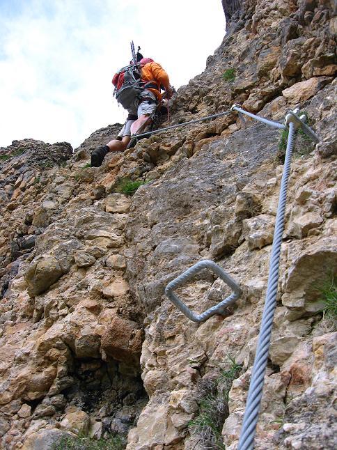 Foto: Andreas Koller / Klettersteigtour / Rosskopf Klettersteig und Rofanspitze (2259 m) / 14.07.2010 15:00:09