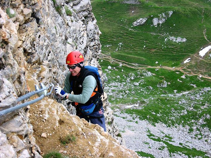Foto: Andreas Koller / Klettersteigtour / Rosskopf Klettersteig und Rofanspitze (2259 m) / 14.07.2010 14:59:59