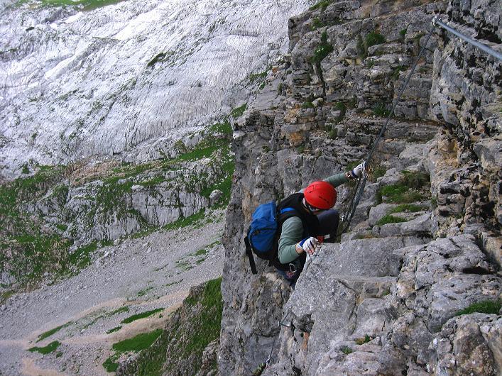 Foto: Andreas Koller / Klettersteigtour / Rosskopf Klettersteig und Rofanspitze (2259 m) / 14.07.2010 14:59:51