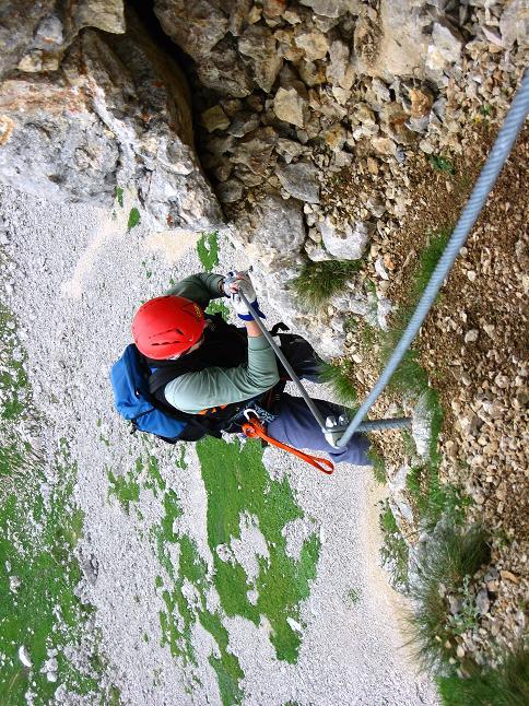 Foto: Andreas Koller / Klettersteigtour / Rosskopf Klettersteig und Rofanspitze (2259 m) / 14.07.2010 14:59:43
