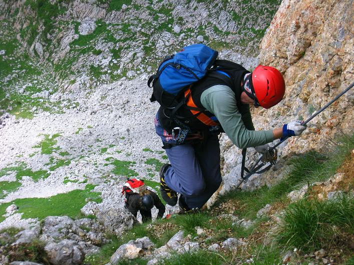 Foto: Andreas Koller / Klettersteigtour / Rosskopf Klettersteig und Rofanspitze (2259 m) / 14.07.2010 14:59:35