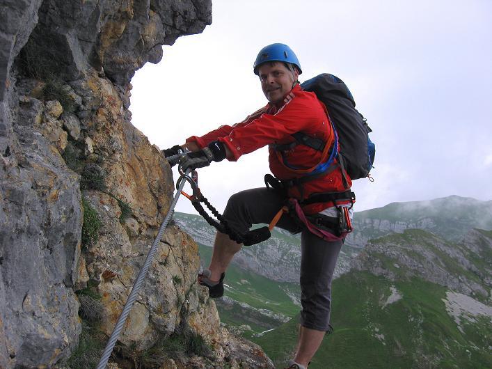 Foto: Andreas Koller / Klettersteigtour / Rosskopf Klettersteig und Rofanspitze (2259 m) / 14.07.2010 14:59:29