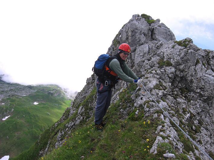 Foto: Andreas Koller / Klettersteigtour / Rosskopf Klettersteig und Rofanspitze (2259 m) / 14.07.2010 14:59:02