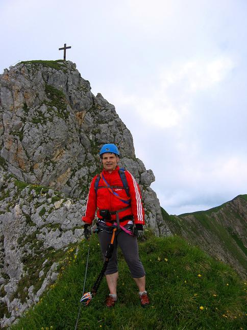 Foto: Andreas Koller / Klettersteigtour / Rosskopf Klettersteig und Rofanspitze (2259 m) / 14.07.2010 14:58:49