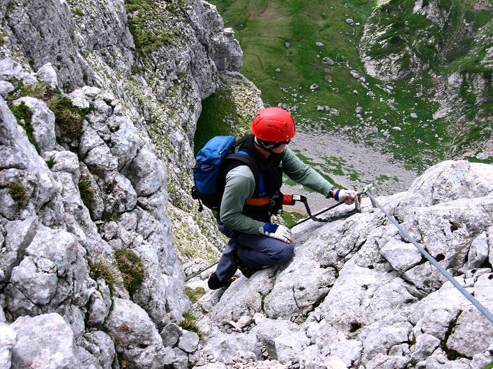 Foto: Andreas Koller / Klettersteigtour / Rosskopf Klettersteig und Rofanspitze (2259 m) / 14.07.2010 14:58:41