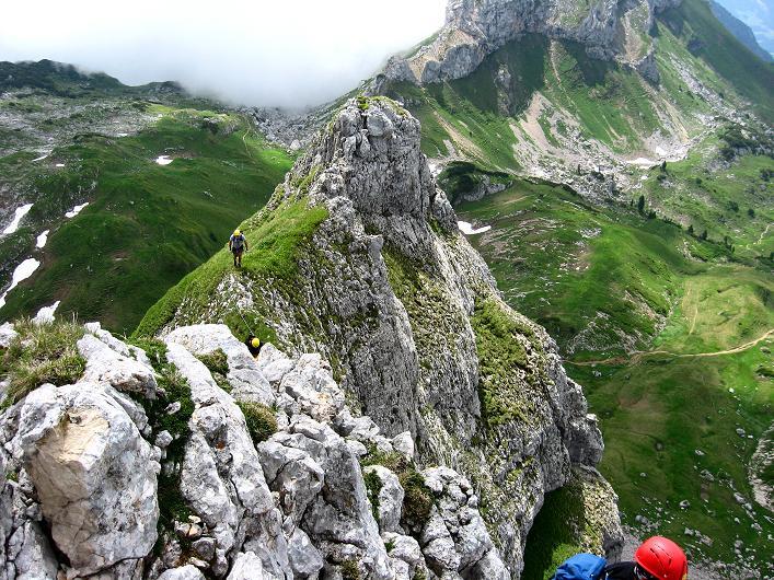 Foto: Andreas Koller / Klettersteigtour / Rosskopf Klettersteig und Rofanspitze (2259 m) / 14.07.2010 14:58:33