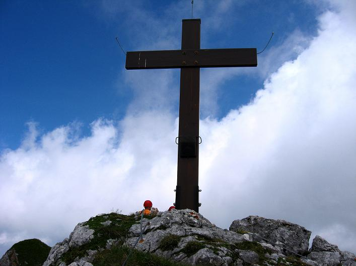 Foto: Andreas Koller / Klettersteigtour / Rosskopf Klettersteig und Rofanspitze (2259 m) / Am Rosskopf / 14.07.2010 14:58:23