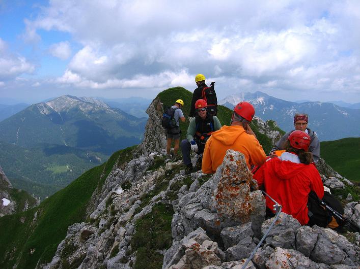 Foto: Andreas Koller / Klettersteigtour / Rosskopf Klettersteig und Rofanspitze (2259 m) / 14.07.2010 14:58:10