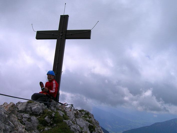 Foto: Andreas Koller / Klettersteigtour / Rosskopf Klettersteig und Rofanspitze (2259 m) / 14.07.2010 14:58:03
