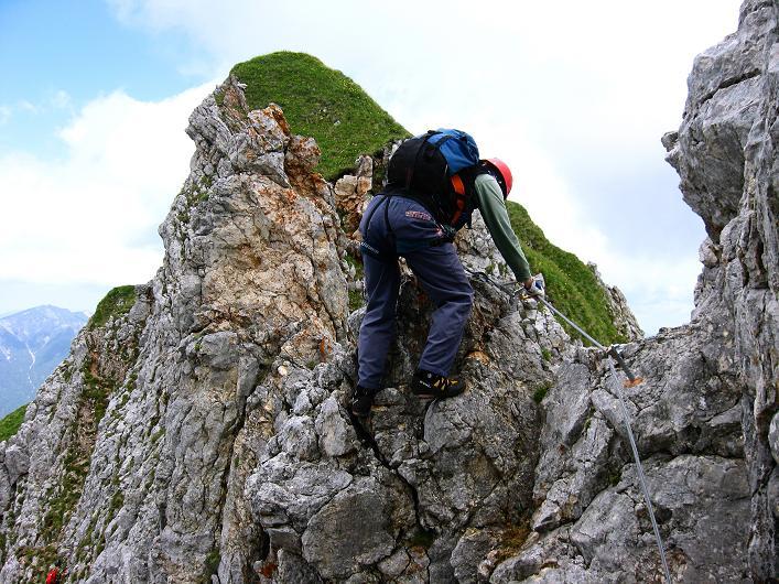 Foto: Andreas Koller / Klettersteigtour / Rosskopf Klettersteig und Rofanspitze (2259 m) / 14.07.2010 14:57:22