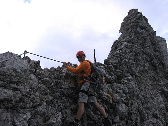 Foto: Andreas Koller / Klettersteigtour / Rosskopf Klettersteig und Rofanspitze (2259 m) / 14.07.2010 14:57:15