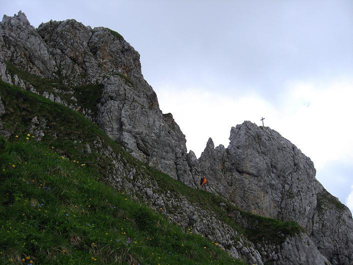 Foto: Andreas Koller / Klettersteigtour / Rosskopf Klettersteig und Rofanspitze (2259 m) / Rosskopf / 14.07.2010 14:56:32