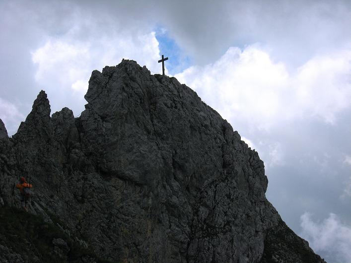 Foto: Andreas Koller / Klettersteigtour / Rosskopf Klettersteig und Rofanspitze (2259 m) / 14.07.2010 14:56:12