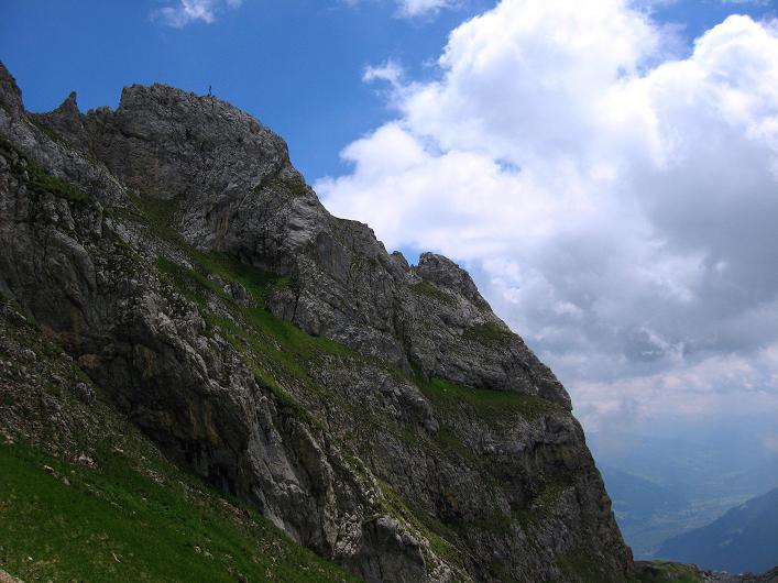 Foto: Andreas Koller / Klettersteigtour / Rosskopf Klettersteig und Rofanspitze (2259 m) / Rosskopf / 14.07.2010 14:55:54
