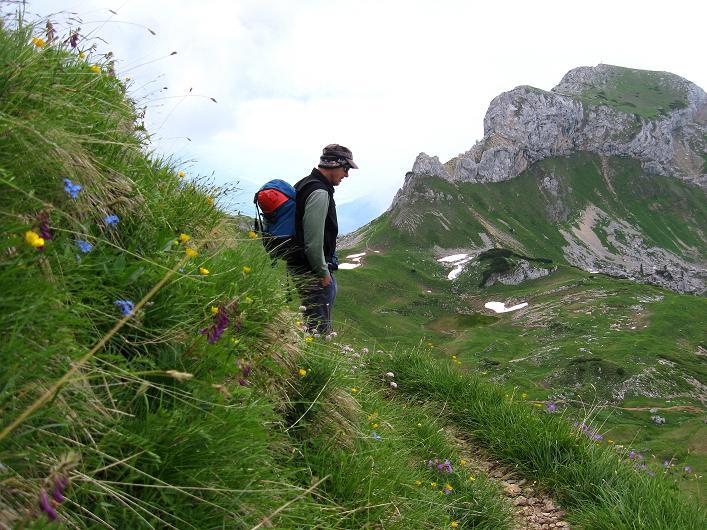 Foto: Andreas Koller / Klettersteigtour / Rosskopf Klettersteig und Rofanspitze (2259 m) / 14.07.2010 14:55:25
