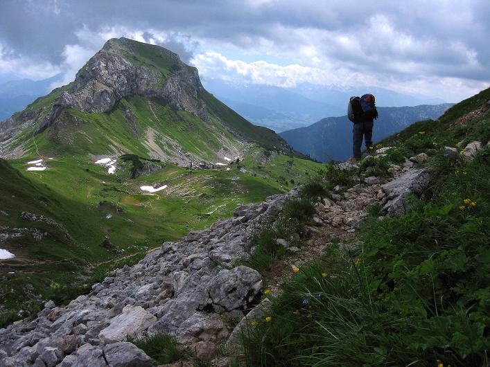 Foto: Andreas Koller / Klettersteigtour / Rosskopf Klettersteig und Rofanspitze (2259 m) / 14.07.2010 14:54:45