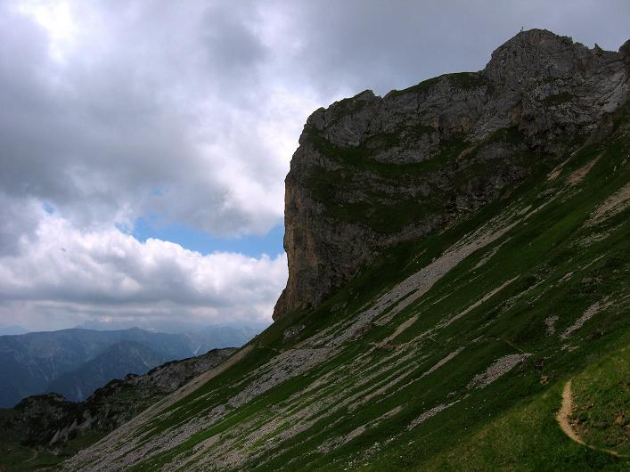 Foto: Andreas Koller / Klettersteigtour / Rosskopf Klettersteig und Rofanspitze (2259 m) / Rosskopf / 14.07.2010 14:54:35