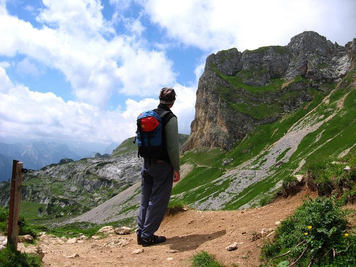 Foto: Andreas Koller / Klettersteigtour / Rosskopf Klettersteig und Rofanspitze (2259 m) / 14.07.2010 14:54:15