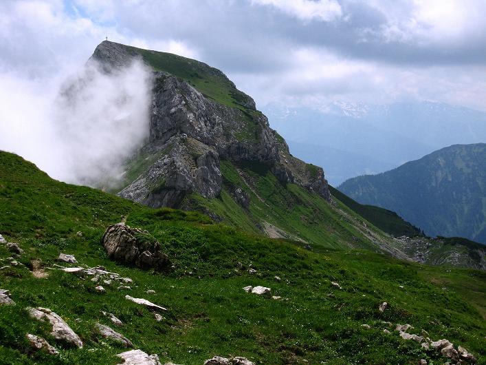 Foto: Andreas Koller / Klettersteigtour / Rosskopf Klettersteig und Rofanspitze (2259 m) / Haidachstellwand (2192m) / 14.07.2010 14:54:08
