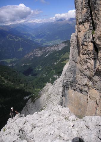 Foto: Wolfgang Lauschensky / Klettertour / Bügeleisenkante – Roter Turm – Ellerturm / unter der Großen Laserzwand / 17.06.2010 16:50:38