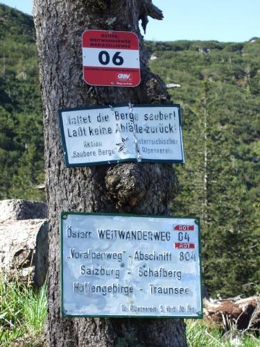 Foto: hofchri / Wandertour / Überschreitung Höllengebirge über Hochleckenhaus (1.574 m) / am Weitwanderweg / 30.06.2010 19:28:20
