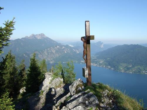 Foto: hofchri / Wandertour / Überschreitung Höllengebirge über Hochleckenhaus (1.574 m) / Mahdgupf / 30.06.2010 19:25:57