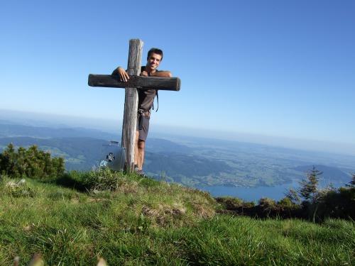 Foto: hofchri / Wandertour / Überschreitung Höllengebirge über Hochleckenhaus (1.574 m) / die Brennerin / 30.06.2010 19:27:30